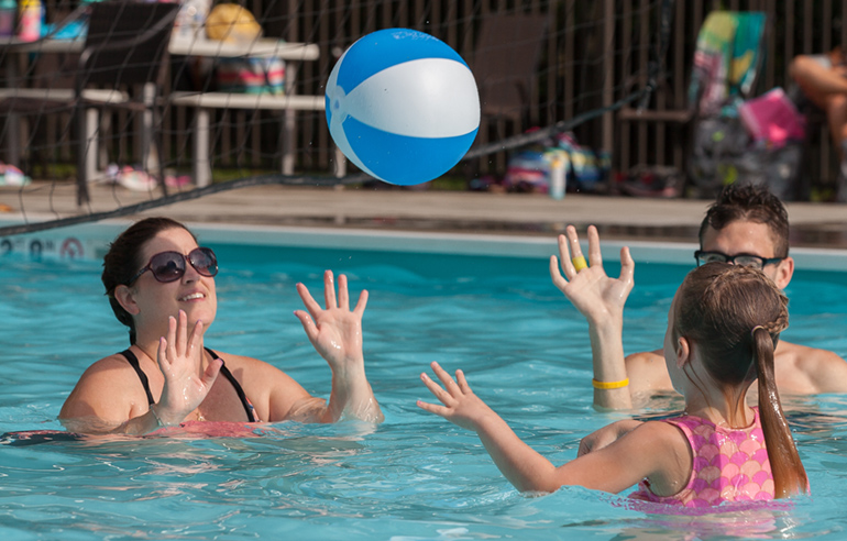Host your next pool party at Laurelville, near Pittsburgh, PA
